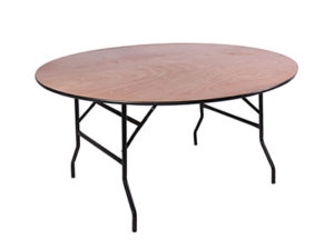 TABLE PLIANTE BOIS RONDE