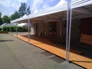 Location de chapiteaux pour événement à Bourg en Bresse Locdunum