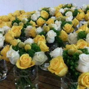 Decoration florale pour mariage à Lyon Locdunum