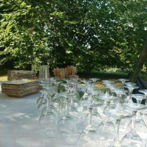 location de matériel événementiel et dans l'Art de la table Isère