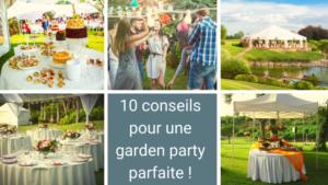 Illustration pour 10 conseils pour une garden party parfaite