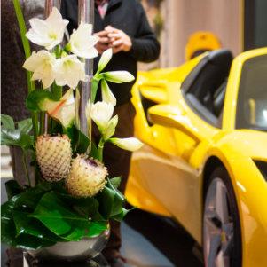 Décoration florale pour événement professionnel sur Lyon et dans le Beaujolais