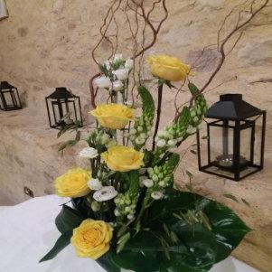 Décoration florale pour anniversaire sur Lyon et dans le Beaujolais
