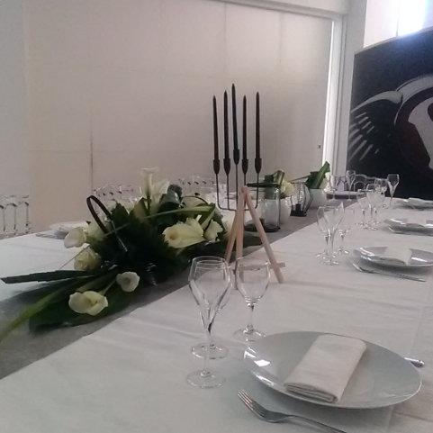 Photo de Nappage et décoration table