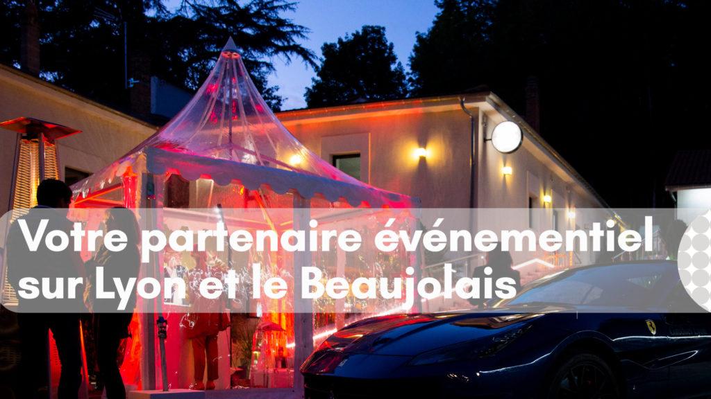Image de chapiteau de location pour événement à Lyon ou dans le Beaujolais - Loc'dunum