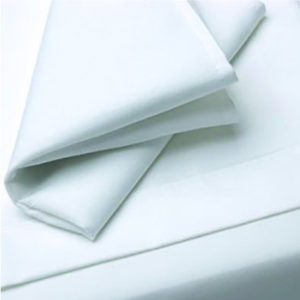Photo de Serviette blanche en tissu coton
