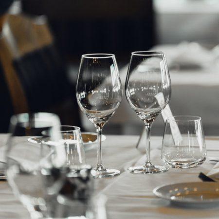 Photo de verres élégance - verres a vin et eau